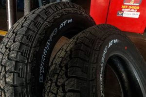 Hankook Dynapro ATM two tires