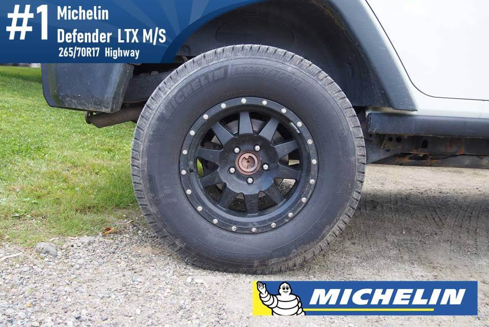 265/70R17 Michelin Defender LTX M/S