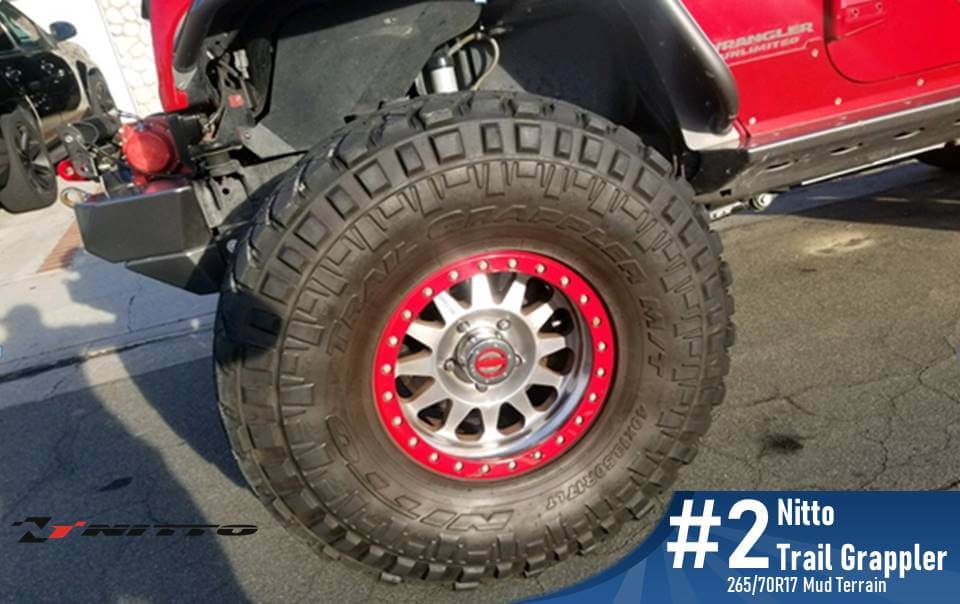 265 70 R17 Nitto Trail Grappler M/T