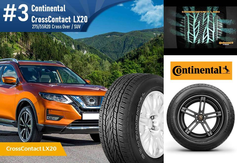 Continental CrossContact LX20  - 275/55R20