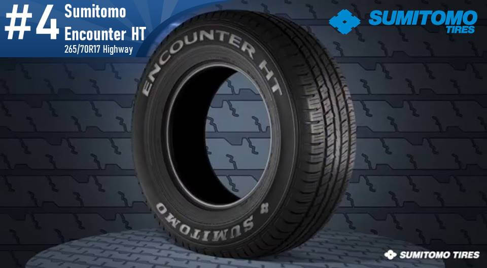 265/70R17 Sumitomo Encounter HT