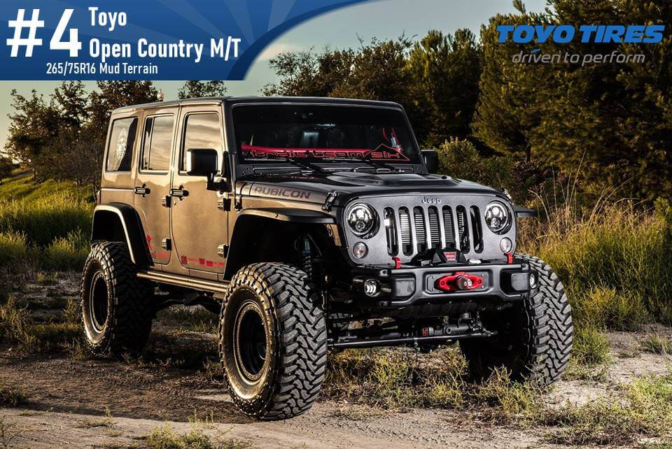 Toyo Open Country M/T – 265/75R16