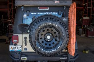 BFGoodrich All Terrain T/A KO2 red Jeep