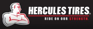 Hercules tires black logo